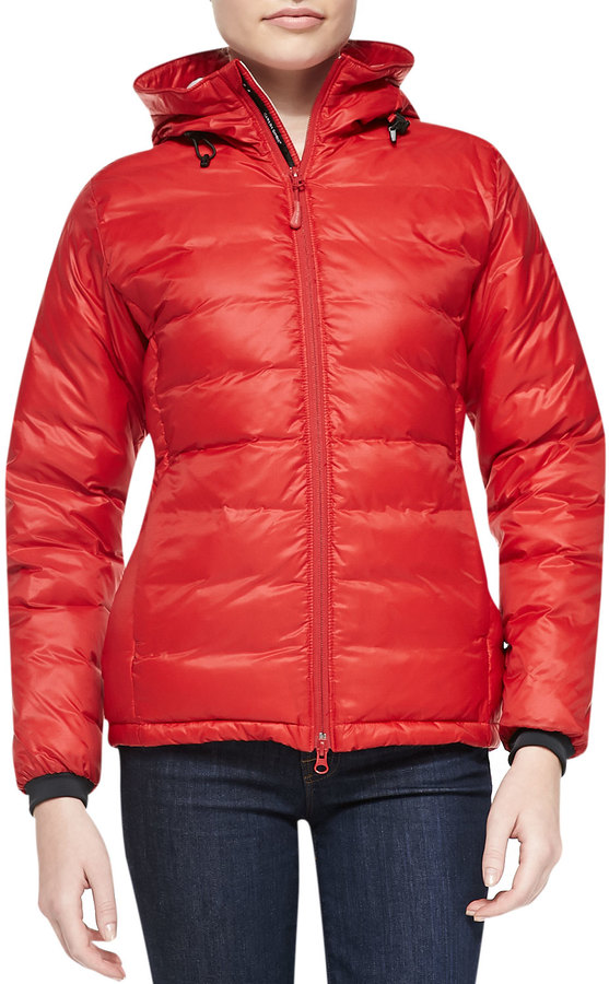 Canada Goose Camp Hooded rojo