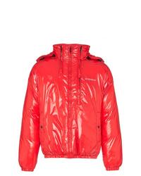 Plumífero rojo de Givenchy