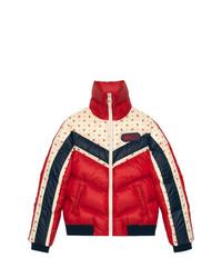 Plumífero rojo de Gucci