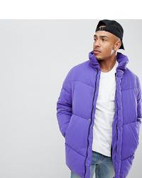 Plumífero violeta claro de ASOS DESIGN