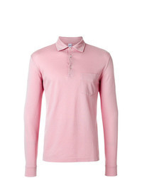 Polo de manga larga rosado