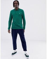 Polo de manga larga verde de Tommy Jeans