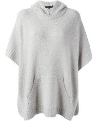 Poncho gris de Ralph Lauren