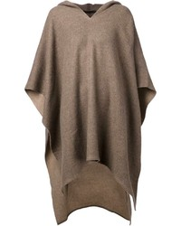 Poncho marron original 10213488