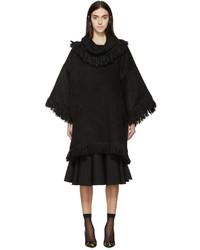 Poncho negro de Dolce & Gabbana