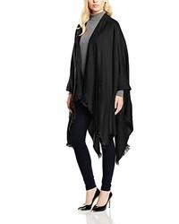Poncho negro de Vero Moda