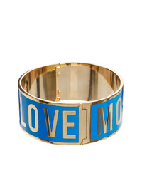 Pulsera azul de Love Moschino
