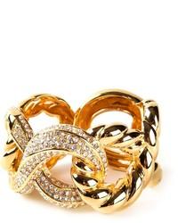 Pulsera con adornos dorada de Giuseppe Zanotti