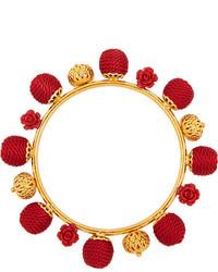 Pulsera con cuentas roja de Dolce & Gabbana