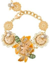 Pulsera dorada de Dolce & Gabbana