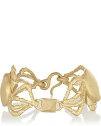 Pulsera dorada de Valentino