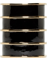 Pulsera en negro y dorado de Balmain