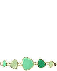 Pulsera en verde menta