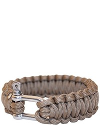 Pulsera marrón de Bushcraft