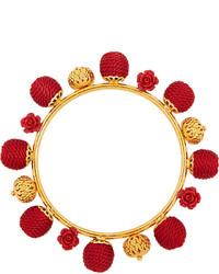 Pulsera roja de Dolce & Gabbana