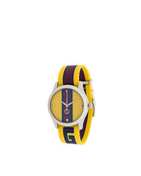 Reloj amarillo de Gucci