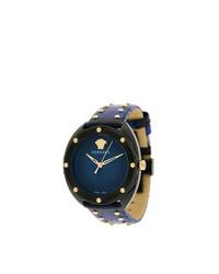 Reloj azul marino de Versace