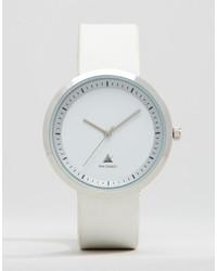 Reloj blanco de Asos