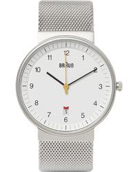 Reloj blanco de Braun
