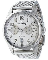 Reloj blanco de Breitling
