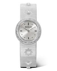 Reloj blanco de Buccellati