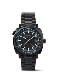 Reloj de cerámica negro de Bamford Watch Department