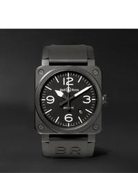 Reloj de cerámica negro de Bell & Ross