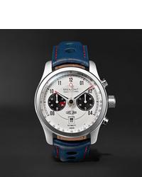 Reloj de cuero azul marino de Bremont