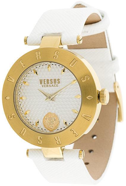 Reloj de Cuero Blanco de Versus
