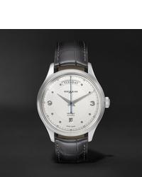 Reloj de cuero en gris oscuro de Montblanc