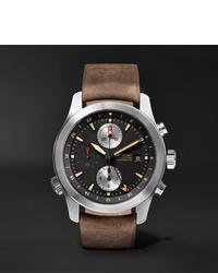 Reloj de cuero marrón de Bremont