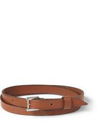 Reloj de cuero marrón de WANT Les Essentiels