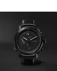 Reloj de cuero negro de Bremont