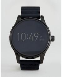 Reloj de Cuero Negro de Fossil