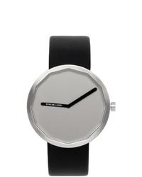 Reloj de cuero negro de Issey Miyake Men