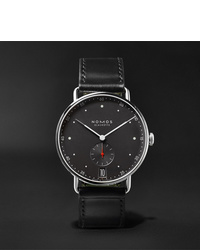 Reloj de cuero negro de NOMOS Glashütte