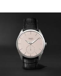 Reloj de cuero negro de Parmigiani Fleurier