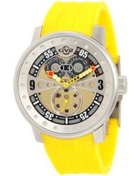 Reloj de Goma Amarillo