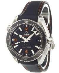 Reloj de goma azul marino de Omega