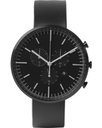Reloj de goma azul marino de Uniform Wares
