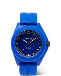 Reloj de goma azul de Bamford Watch Department