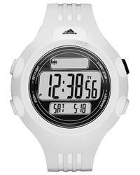 Reloj de goma blanco