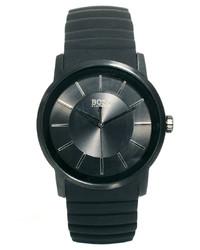 Reloj de goma negro de Hugo Boss