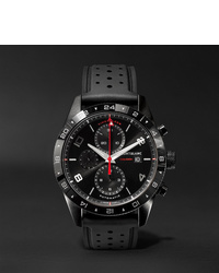 Reloj de goma negro de Montblanc
