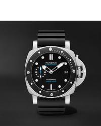Reloj de goma negro de Panerai
