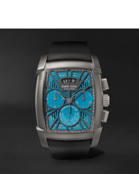Reloj de goma negro de Parmigiani Fleurier