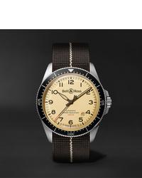 Reloj de lona negro de Bell & Ross