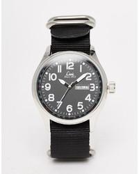 Reloj de lona negro de Limit