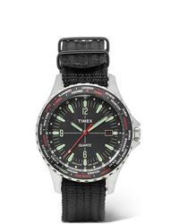 Reloj de lona negro de Timex