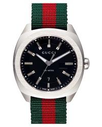 Reloj de lona verde oscuro